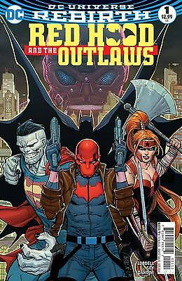 Red Hood and the Outlaws #1 DC Comics Rebirth