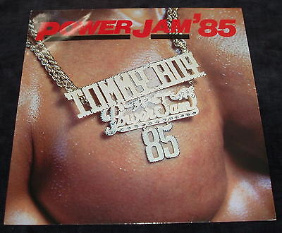 Power Jam' 85 COMPILATION VINYL LP Tommy Boy Records Sweet Trio , Rock Squad