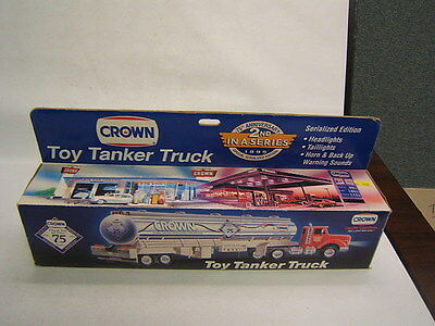 Crown Toy Tanker Truck 1995 Serialized Ed 2nd in series