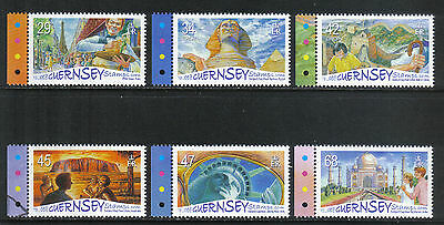 Guernsey 2006 International Tourist Attractions--Attractive Topical (893-98) MNH