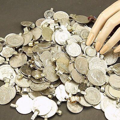 50 real COINS Tribal Belly Dance Kuchi MIXED ((polished))