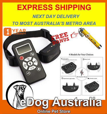 Electric Dog Training Collar Pet Dog Remote Training Collar Anti Bark Stop bark