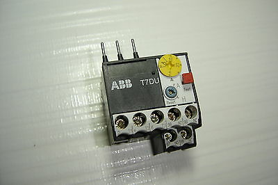 unused//OVP ABB T7DU T7 DU 1,6 1,0-1,6A Thermal Overload Relay