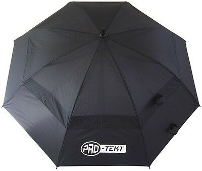 Brand New: Pro-Tekt Golf Dual Canopy Umbrella (Black) - FREE UK P&P