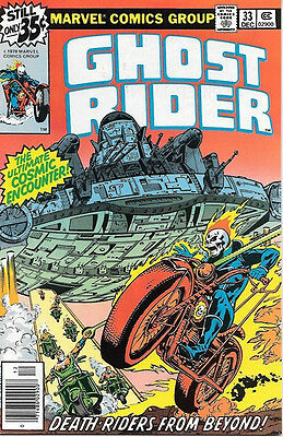 Ghost Rider Comic Book #33, Marvel Comics 1978 VERY FINE/NEAR MINT