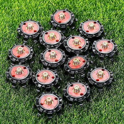 14Pcs Soft Soft Spikes Replacement Golf Shoe Spikes Metal Thread Studs Screw