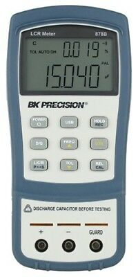 New BK 878B 40,000 Count Dual Display Handheld LCR Meter US Authorized Dealer