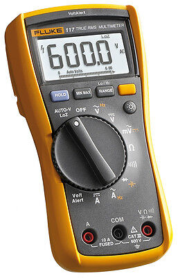 Fluke 117 Electrician's Multimeter with Non-Contact Voltage Detection