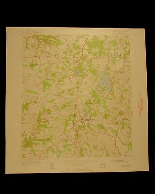 Kinderhook New York vintage 1955 original USGS Topographical chart