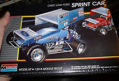 MONOGRAM CASEY LUNA FORD BOBBY DAVIS JR WOO SPRINT CAR Model Car Mountain FS