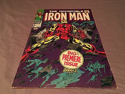 Iron Man #1 (1968 Series) 1st Solo Book Low-Mid Grade