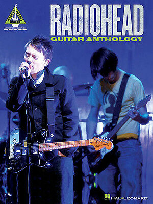 Guitar 18 guitar chords : Radiohead Guitar Anthology Tab Sheet Music 18 Rock Songs Chords ...