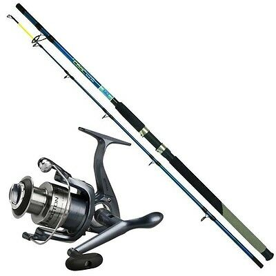Pilk- Set Zebco Cool Heay Boat 2,40m Wg: bis 500g + Spro Nectron