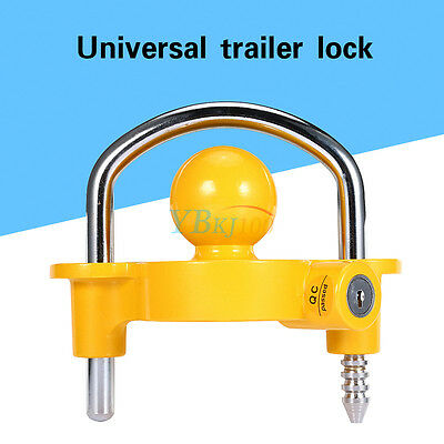 Trailer Hitch Car Lock Coupling Universal Tow Ball Caravan Camping Anti Theft AU