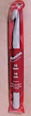Essentials Crochet Hook 10 mm Single Needle With Case