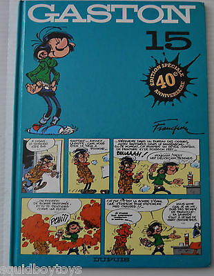 GASTON LAGAFFE #15  BD Franquin 1989 French Comic Book 1997 Dupuis