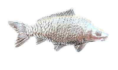 Common Carp Handcrafted in Solid Pewter In UK Lapel Pin Badge