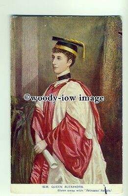 r0634 - Queen Alexandra wife of King Edward VII - postcard