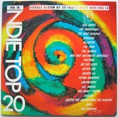 VARIOUS Indie Top 20 Volume IX 1990 UK  UK Double Vinyl LP EXCELLENT CONDITION 9
