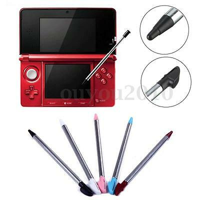4X Retractable Metal Stylus Touch Screen Pen For New Nintendo 3DS LL/XL Console