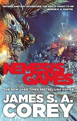 Nemesis Games: Book 5 of the Expanse,Excellent Condition