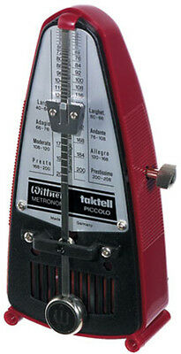Wittner Metronome. Taktell Piccolo. Red Ruby (Metronomes|Traditional Metronomes)