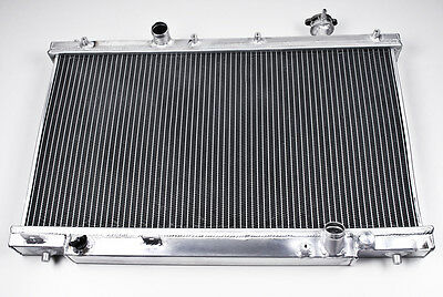 Aluminium Alloy Race Sport Radiator Rad For Honda Civic Ep3 K20 2.0 Type R 00-05