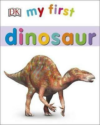 NEW My First Dinosaur By Kindersley Dorling Board Book Free Shipping