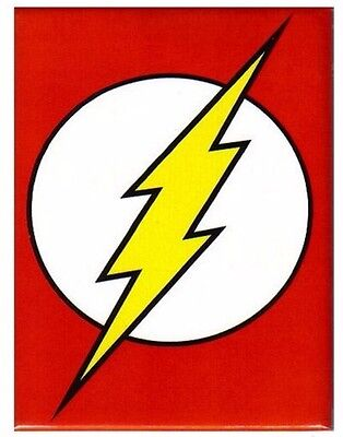Flash Symbol DC Comics Offically Licensed Photo Refrigerator Magnet