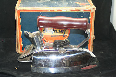 Vintage Hotpoint A.C. Matic Electric Iron Cat. No. 119F86 - In Box