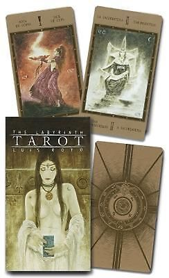The Labyrinth Tarot by Lo Scarabeo Cards Book (English)