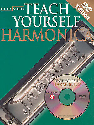 Teach Yourself Harmonica Beginner Harp Lessons Learn to Play Video Book DVD NEW