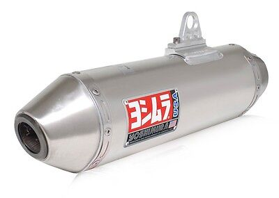 Yoshimura RS 2 Slip On Exhaust Pipe Stainless Suzuki King Quad 500 700 750 All