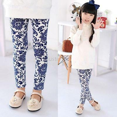 Lovely Toddlers Baby Kids Girls Floral Leggings Pants Underwear Printed Trousers
