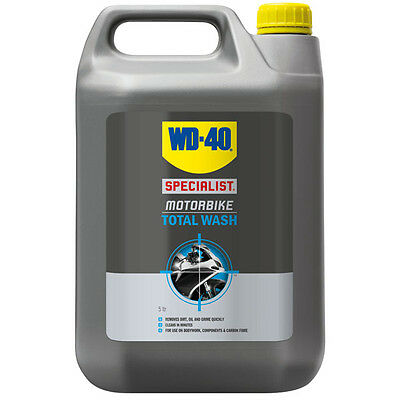 WD 40 Motorbike Scooter Motorcycle Quad Biodegradable Total Wash Cleaner - 5L