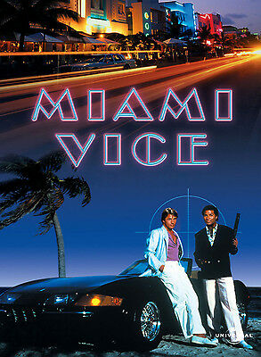 Miami Vice Tv Show  Poster Style F 13x19 inches