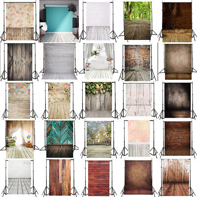 AU 45 Types 5x7FT Vinyl Photography Backdrop Brick Wall Floor Photo Background