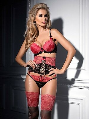 AXAMI Berry Mousse SET Push-up BH + Slip V-4851 Dessous Cup 65 70 75 80 85 ABCDE