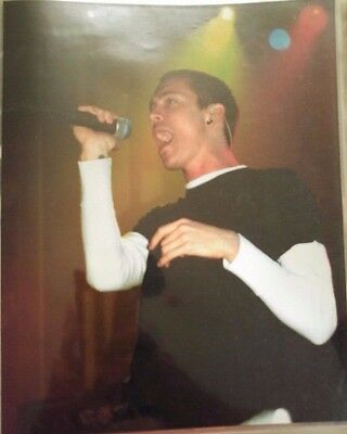 INCUBUS - 8 X 10 Glossy Color Live Concert Photo Picture - Brandon Boyd