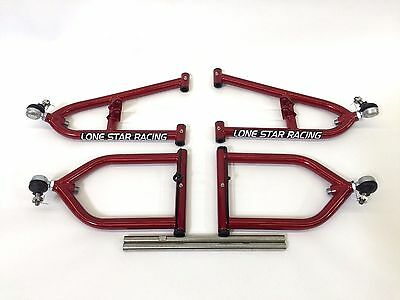 Lonestar Racing Lsr Sport Extended A-Arms +2+1 Candy Red Yamaha Banshee 350