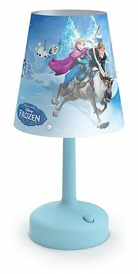 Philips Disney Frozen Portable LED Children's Bedside and Table Lamp, Integrated