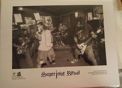 SUPERJOINT RITUAL - 8 X 10 Glossy Official Promo Photo Picture phil pantera down