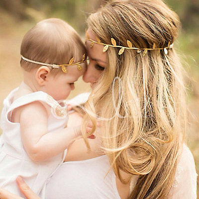 Baby Girl & Women Leaf Headband Hair Band Accessories Photography Props