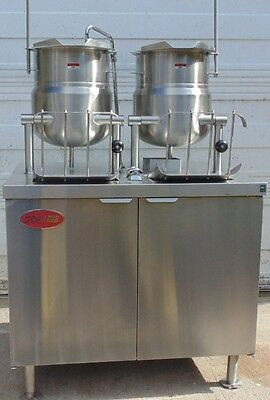 Solaris Steam EMT-6-6S Kettle/Cabinet Assembly Electric with broiler