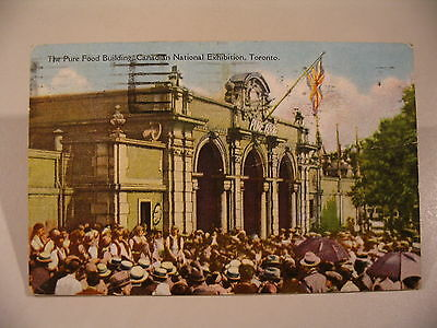 Pure Food bldg Canadian National Exhibition Toronto 1929 Canada Postcard cdii