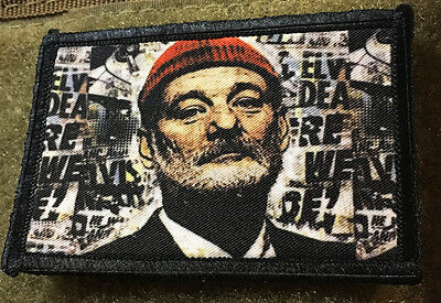 Bill Murray Morale Patch Military Tactical Army Flag USA Hook Badge