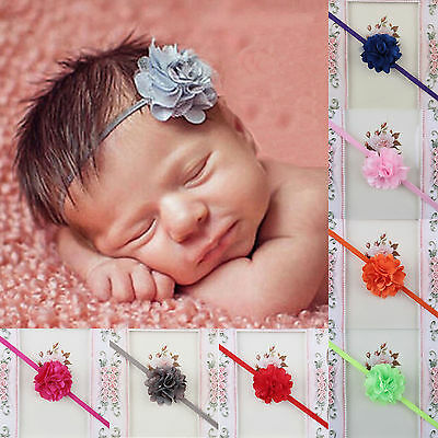 NT Kids Girl Baby Toddler Infant Newborn Flower Headband Hair Band Accessories