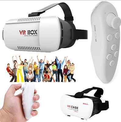 VR BOX Virtual Reality 3D Glasses Bluetooth Remote Game Control Google Cardboard