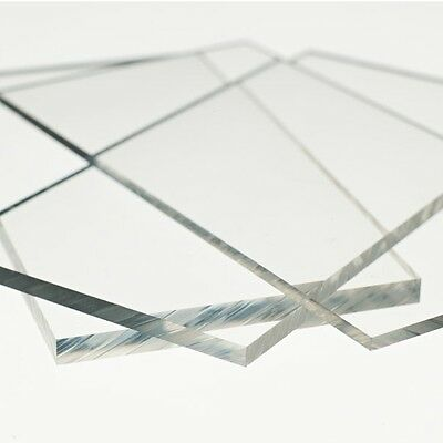 2ft x 2ft x 3mm Acrylic Perspex Greenhouse Glass Window Plastic Shed Clear 610mm