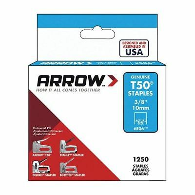 Arrow Staples T50  3/8in - 10mm Box Of 1250